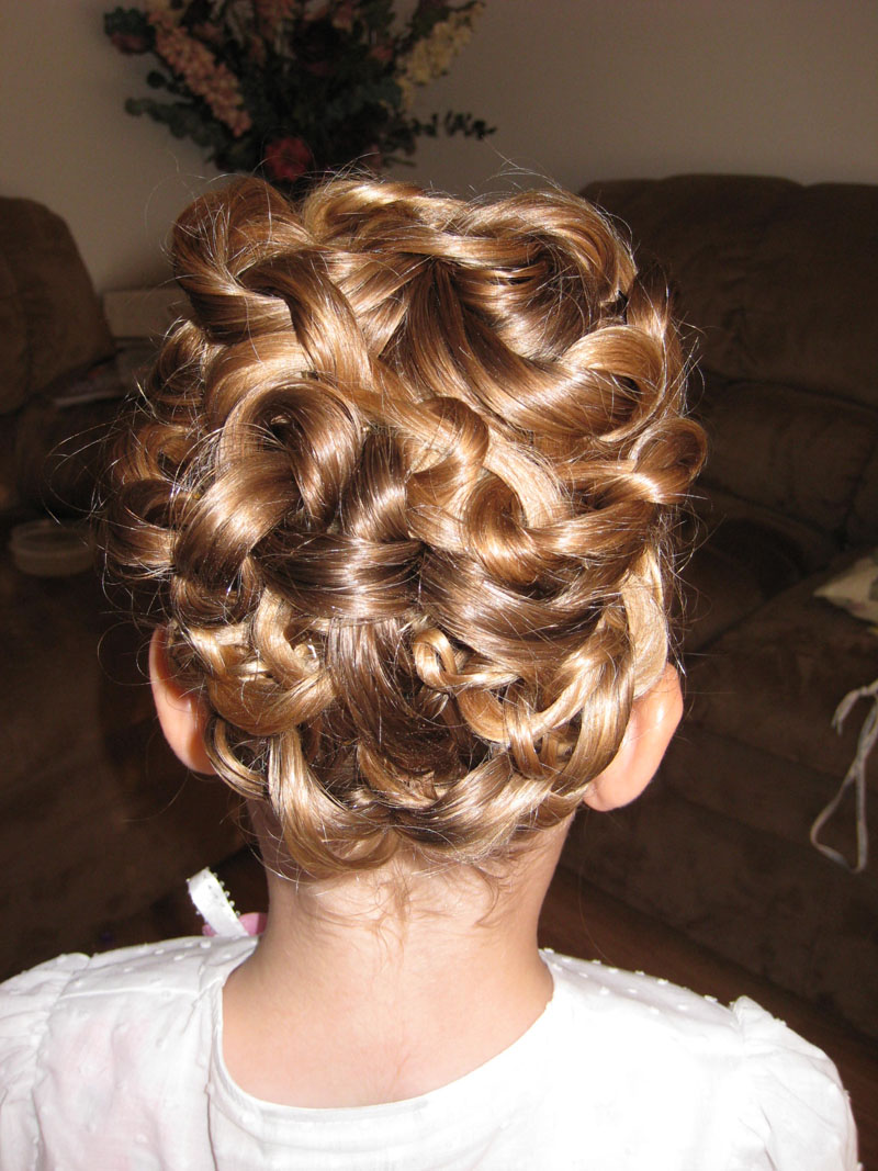 Three Ponytail Knotted Updo - Babes In Hairland
