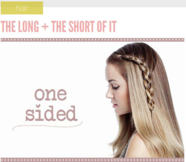 Lauren Conrad Inspired - Half French Braid Wrapped Ponytail (2)