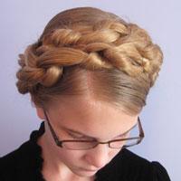 Chunky Knot Milkmaid Braids - BabesInHairland.com (18)