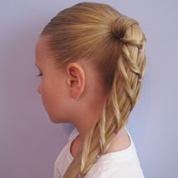 Chevron Ponytail from BabesInHairland.com (12)