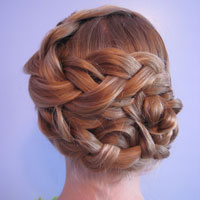 Triple Braided Updo from BabesInHairland.com (18)