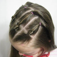 Mini Knots and Ponytails