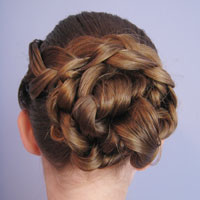 Braid & Knotted Bun Updo from BabesInHairland.com (19)