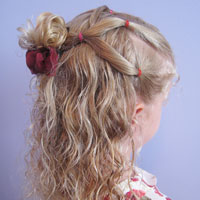 Simple Style for Curly Hair from BabesInHairland.com (1)