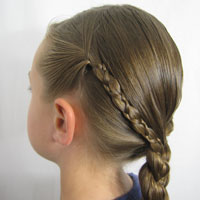 Uneven 3 Strand Braid Video from BabesInHairland.com (5)