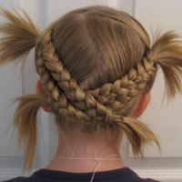 Fun & Funky Criss Cross Braids for Summer (20)