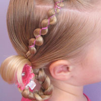 Rubber Band Wraps & Flipped Braids (17)