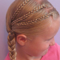 Triple Braided Pocahontas Braids (11)