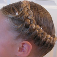 Half French Braided Crown (1)