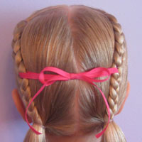 Letter H Hairstyle (1)