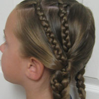 Double Braids into Pocahontas Braids (6)