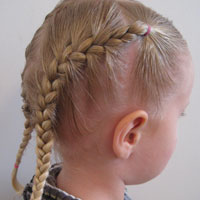 Toddler French Braids (10)