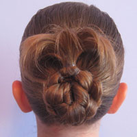 Bun for Shorter Hair (10)