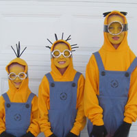 Dispicable Me -Minion Halloween Costumes (8)