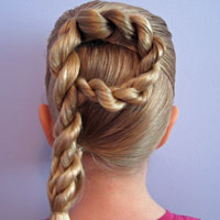 Letter P Hairstyle (11)