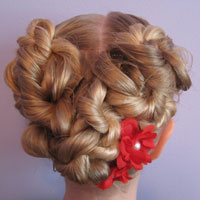 Valentine's Day Heart Updo (16)