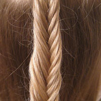 How to Fishbone Braid (2)