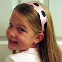 Polka Dot Headband Hairstyles (16)