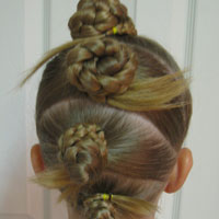 Crazy Hair Day / April Fools Day Hair (7)