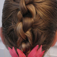 Row of Knots Hairstyle (11)