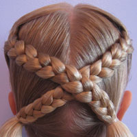 Letter X Hairstyle (12)