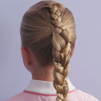French Braid - Braided Ponytail (14)