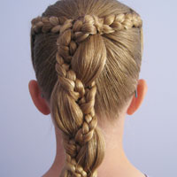 Braid Wrapped Ponytail (8)