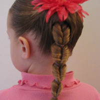 Fake Fishbone Hairstyle (11)