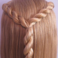 Letter Y Hairstyle (11)