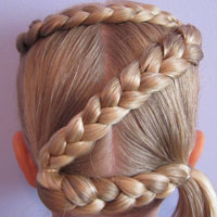 Letter Z Hairstyle (15)