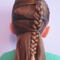 Side Braid and a Topsy Tail Twist (13)