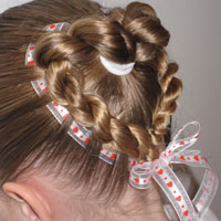 Heart to Heart Valentine Hairstyle (10)
