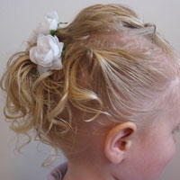Baby Hair Easter Hairstyle (12)