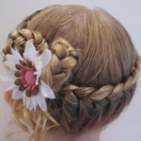 Half French Braided Crown #2 (14)
