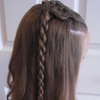 Cornrows & 4 Strand Braid (10)