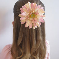 Simple Pull Back Hairstyle (13)