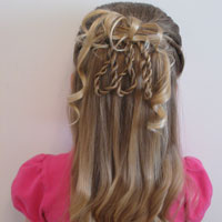Fancier 3 Rope Braid Loop Hairstyle (18)