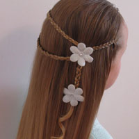 Small Wrap Around Braid Hairstyle (9)
