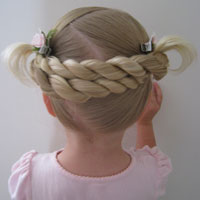 Criss Cross Rope Braids