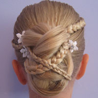 Micro Braid Updo | Wedding Hairstyles (16)