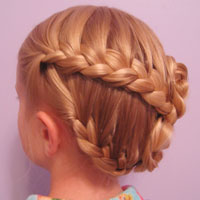 Half-French Braided Updo (19)