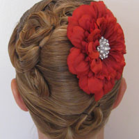 Elegant French Twist Updo (34)