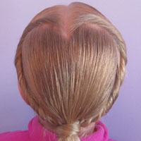 Rolled Heart   Valentine's Day Hairstyle (13)