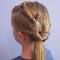 Triple Pull Through Hairstyle from BabesInHairland.com (14)
