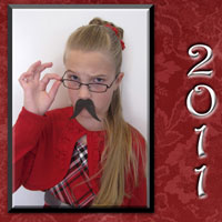 2011 Mustache Christmas Card (2)