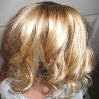 Cascading Waterfall Ponytail