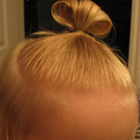 Baby Hair - with and without Product (9)