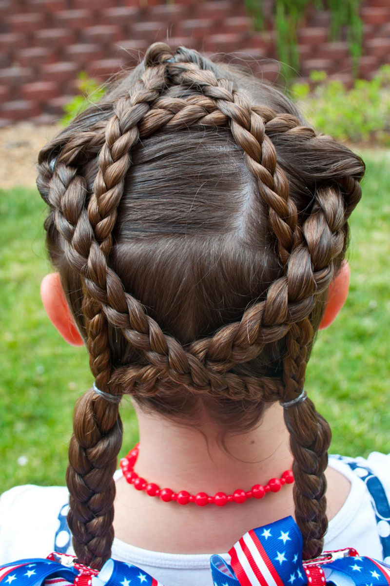 Excellent 4Th Of July Hair Amp Accessory Roundup Babes In Hairland Hairstyles For Women Draintrainus