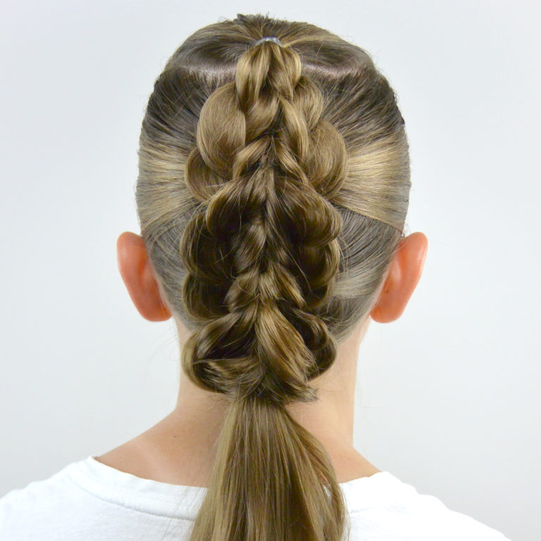 Braided Pull Through Faux Hawk Babes In Hairland
