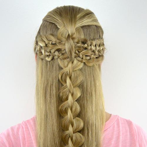 Wondrous Square 4 Strand Braid Hair Braids Short Hairstyles Gunalazisus